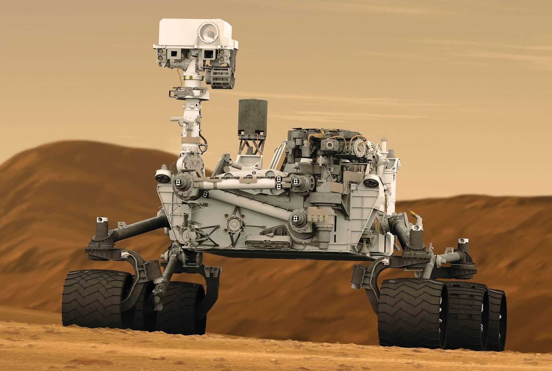 רכב חלל רובוטי
